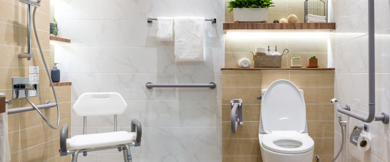 ADA Plumbing Remodel Install Service Age In Place Walkerton IN - How to build a handicap bathroom